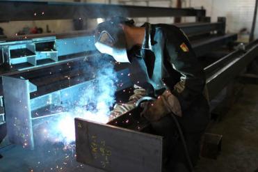 Изготовление металлоконструкции. Сварка