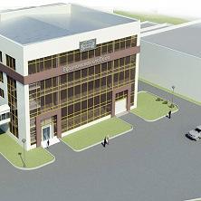 Проект административно-производственного здания с прилегающей территорией