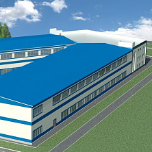 Эскизный проект производственного здания