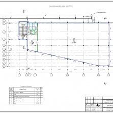 Архитектурные решения проекта склада готовой продукции