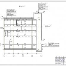 Проектная документация. Планировка производственного здания