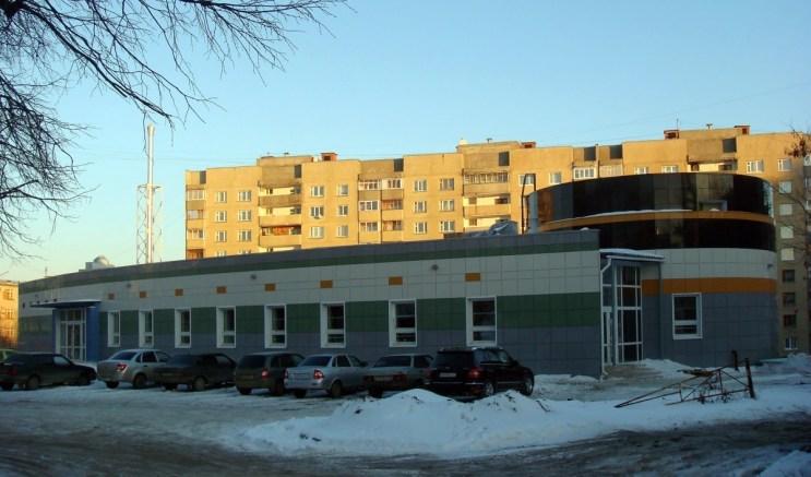 Здание амбулаторного центра