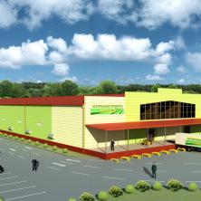 Логистический центр по хранению и переработке овощей, 20000 тонн