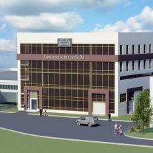 Проект производственно-административного здания (мебельный цех)