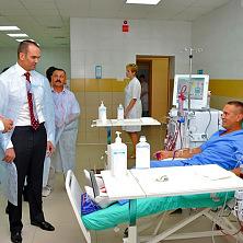 Президент Чувашской Республики Михаил Игнатьев знакомится с работой центра