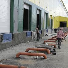 Отделочные работы внешней части здания