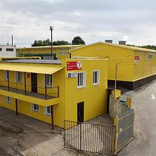 Административное здание со складом. Общий вид на комплекс.