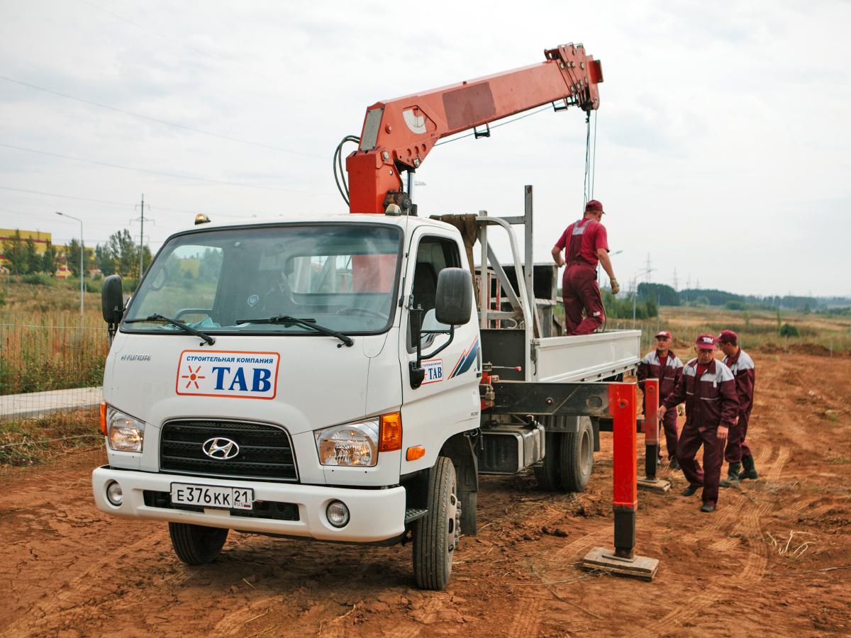 Аренда манипулятор Hyundai 3 тонны в Чебоксарах
