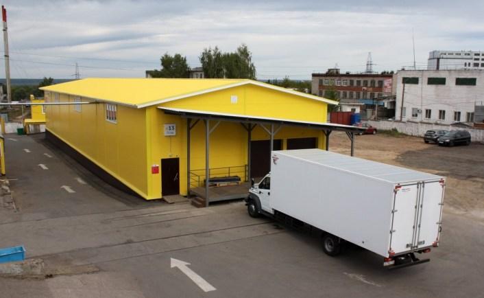 Склад сдан заказчику и готов к приему грузов
