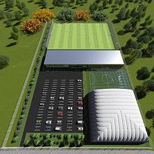1 вариант планировки футбольного стадиона в Санкт-Петербурге