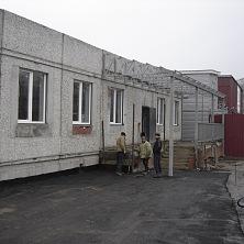 Начинаются работы по устройству второй входной группы здания