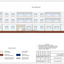 Цветовое решение фасада здания