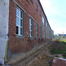 Здание производственного цеха до реконструкции