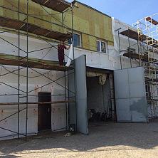 Работы по реконструкции промышленного здания