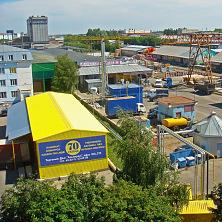 Склад расположен на территории торгово-складского комплекса Чувашгосснаб в городе Чебоксары
