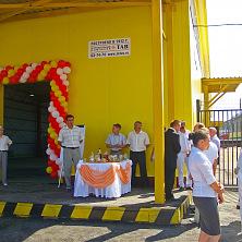 Торжественное открытие склада