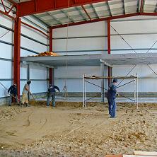 Подготовка основания под бетонный пол
