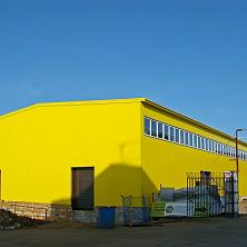 Склад площадью 1200 кв. м построен в 2012 году