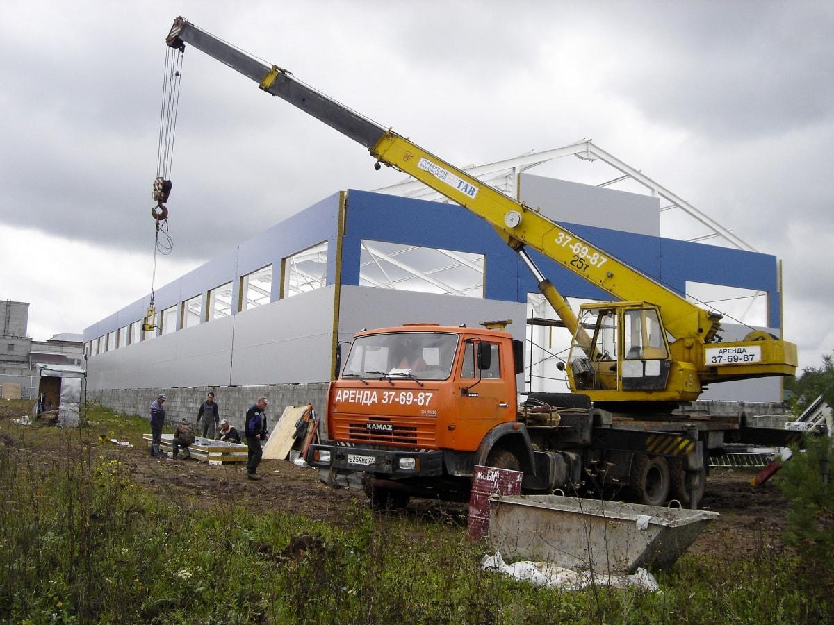 16 Подкрановые конструкции промышленного здания Нагрузки