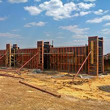 Строительство картофелехранилища: возведение стен