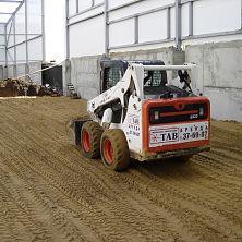 Подготовка основания для устройства промышленных бетонных полов