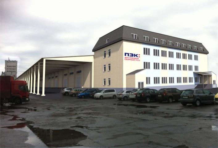 Проект реконструкции склада под современный распределительный центр транспортной компании