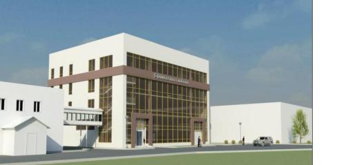 Проект офисного центра с производственными помещениями