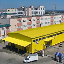 Склад расположен на территории торгово-складского комплекса Чувашгосснаб