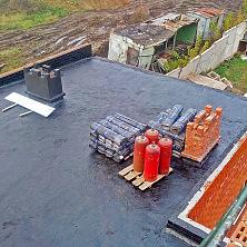 Крыша подготовлена к укладке мягкой кровли