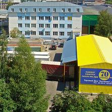 Склад построен Строительной компанией ТАВ