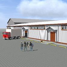 Эскизный проект склада