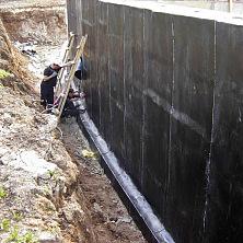 Проверка битумной гидроизоляции