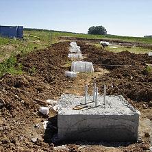 Фундамент овощехранилища — точечный