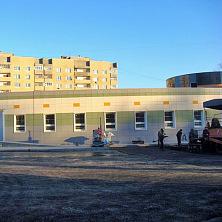 Устройство прилегающей территории медицинского центра