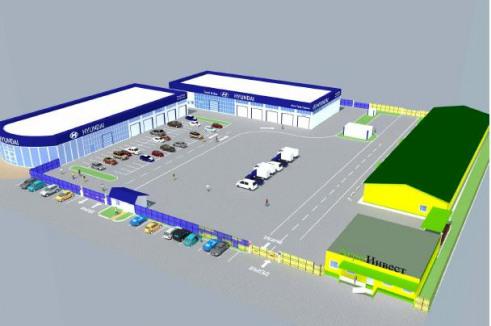 Перспективный план строительства логистического центра