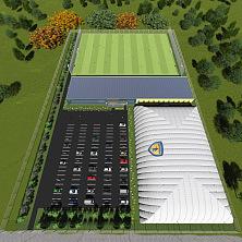 2 вариант планировки футбольного стадиона