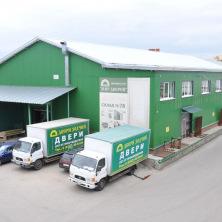 Теплый склад с торговыми, офисными помещениями компании «Зодчий»