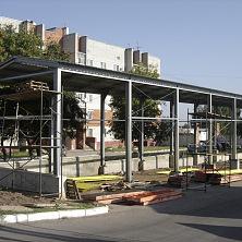 Каркас здания легкий - из тонкостенных металлических профилей