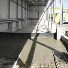 Заливаются бетонные полы