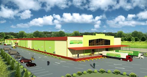 Проект логистического центра для хранения и обработки картофеля и овощей, вместимостью 20 000 тонн