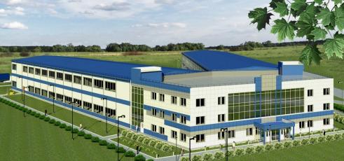 Проект производственно-административного комплекса площадью 8000 кв.м