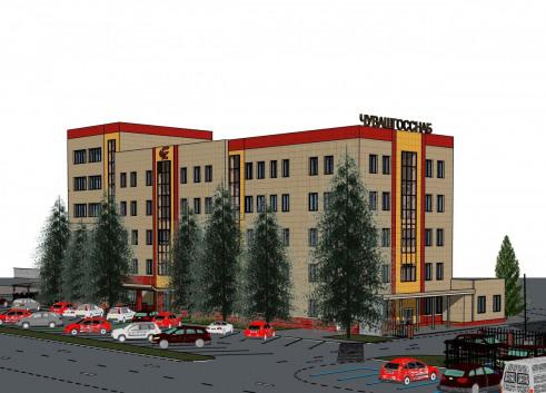 План реконструкции торгово-складского комплекса Чувашгосснаб