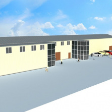 Проект реконструкции производственно-складского помещения