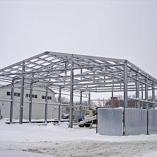 Каркас будущего здания завершен