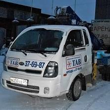 Автовышка Dasan на шасси Kia Bongo 3 сдана в аренду компании ООО «Чувашторгтехника» (г. Чебоксары)