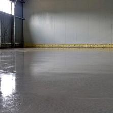 Готовый бетонный топинговый пол