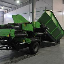 В новое картофелехранилище завезено оборудование для обработки овощей