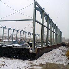 Быстровозводимые стальные конструкции - основа склада