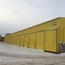 Склад построен Строительной компанией ТАВ в 2014 году