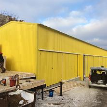 Холодный склад расположен на территории торгово-складского комплекса Чувашгосснаб